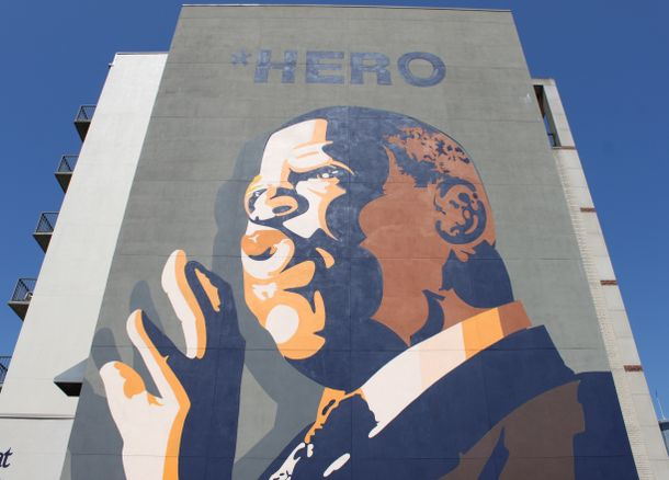 John Lewis Mural - Sweet Auburn District