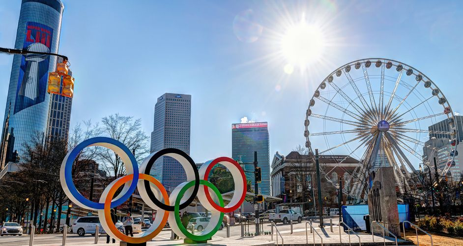 Centennial Olympic Park - Downtown Atlanta