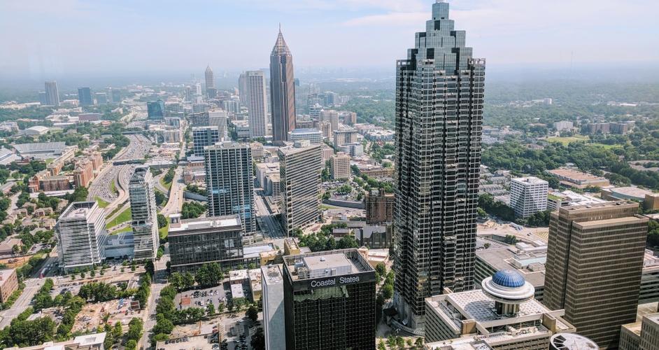 Downtown Atlanta Skyline
