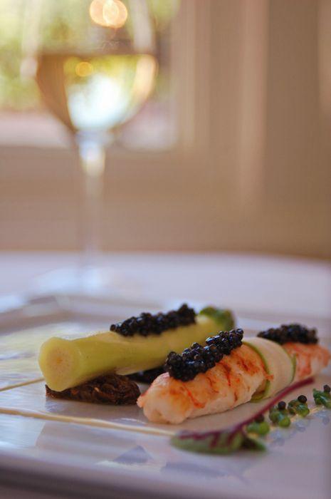 Langoustine with Wine
