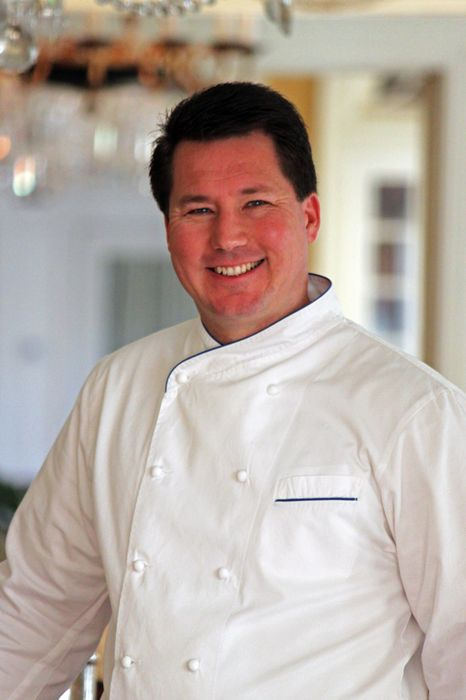 Chef Andrew Chadwick Private Dining Room
