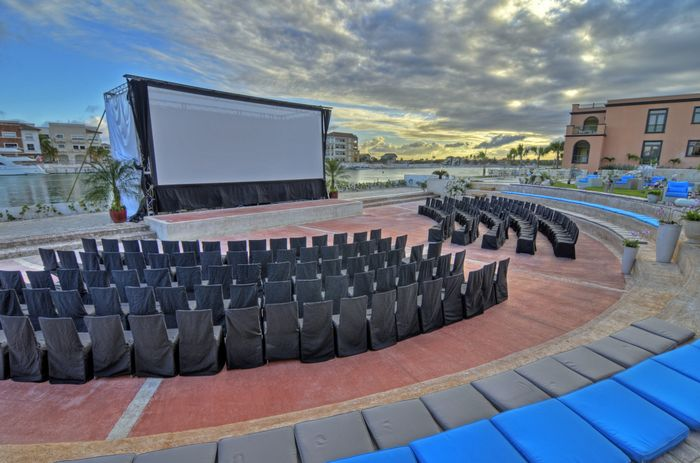 Amphitheater Setup