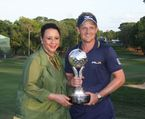 Sheila C. Johnson and Luke Donald