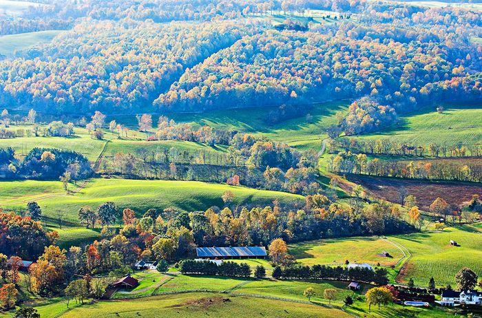 Middleburg Aerial