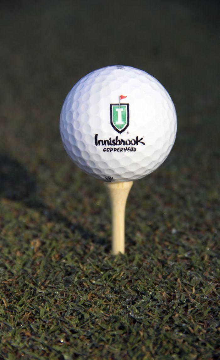 Copperhead - Logo Golf Ball
