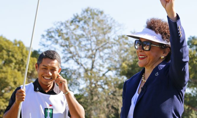 Sheila Johnson - Copperhead Reopening Salute