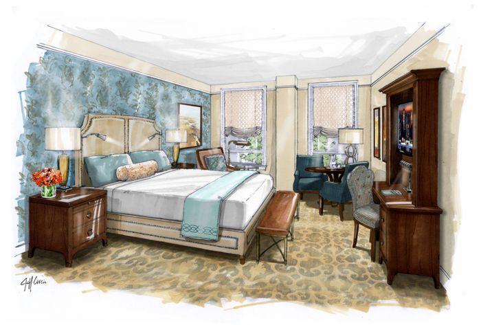 NOPSI Guestroom Rendering