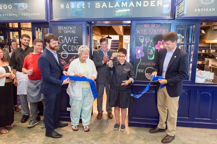 Market Salamander Opening