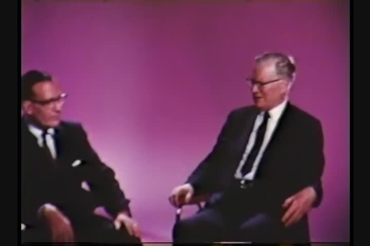 Circa 1966 interview with Chester Carlson and John Dessauer
