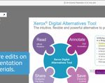 Xerox's New Digital Alternatives Turns the Page On Paper; Redefines How Documents Are Used in the Enterprise