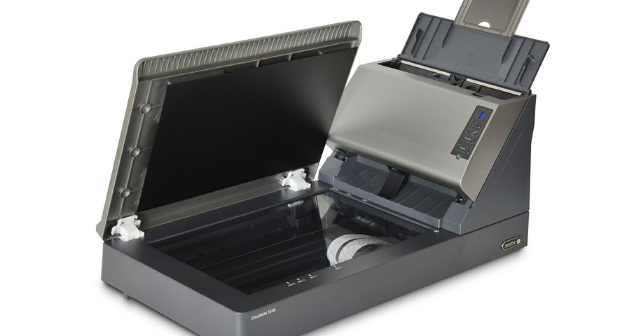 Xerox DocuMate 5540 Scanner (angle view)