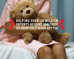 Xerox Work Can Work Better Print Ad for Patient Care
