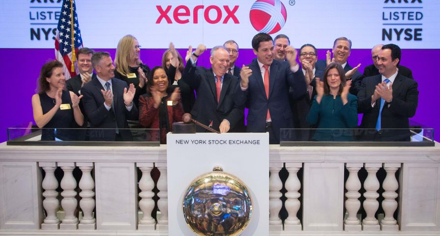 Xerox Rings Bell at NYSE