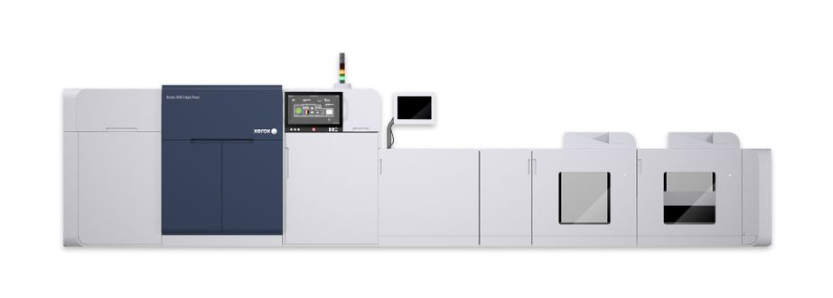 Xerox Rialto 900 Inkjet Press with new inline finishing options