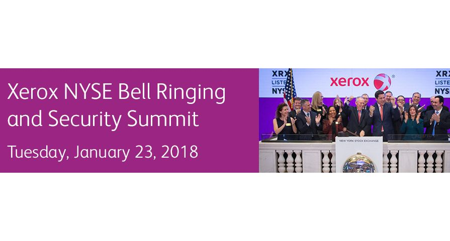 Xerox Security Summit Banner