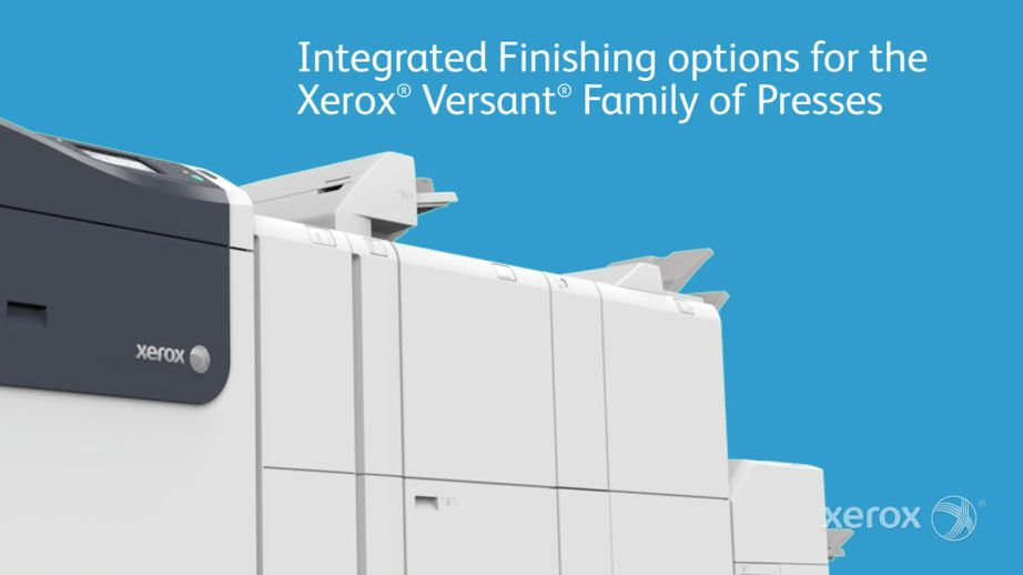 Automate Print Production with the Xerox Versant 180 and 3100 Presses
