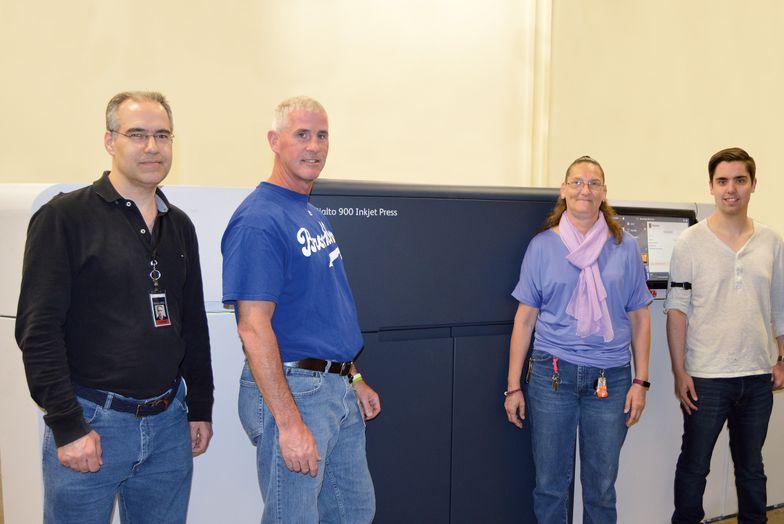 Compu-mail team with Xerox Rialto