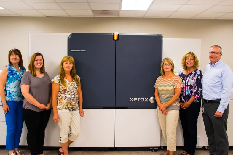 Pekin and their new Xerox Brenva HD Inkjet Press