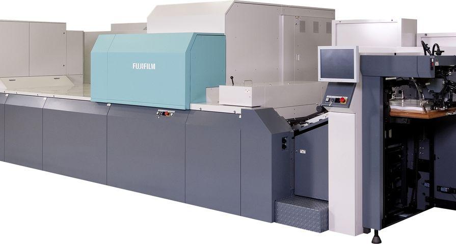 Fujifilm J Press 720S sheetfed inkjet press