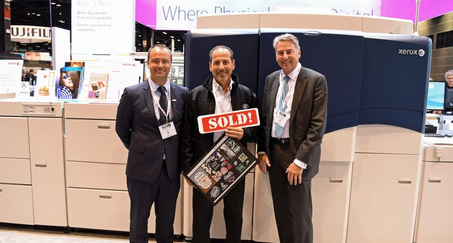 Canada's Westkey Graphics Purchases Xerox's New White Dry Ink for the iGen 5 Press at PRINT 17
