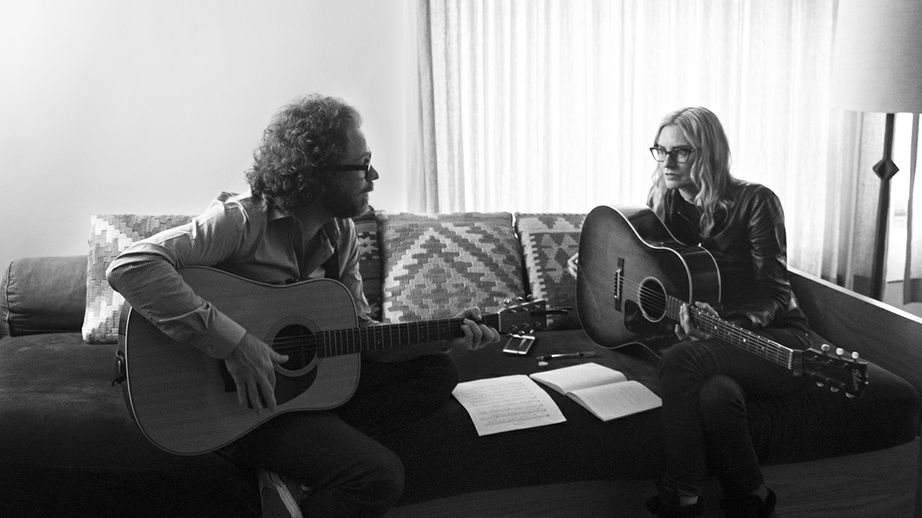 Singer-Songwriters Aimee Mann and  Jonathan Coulton