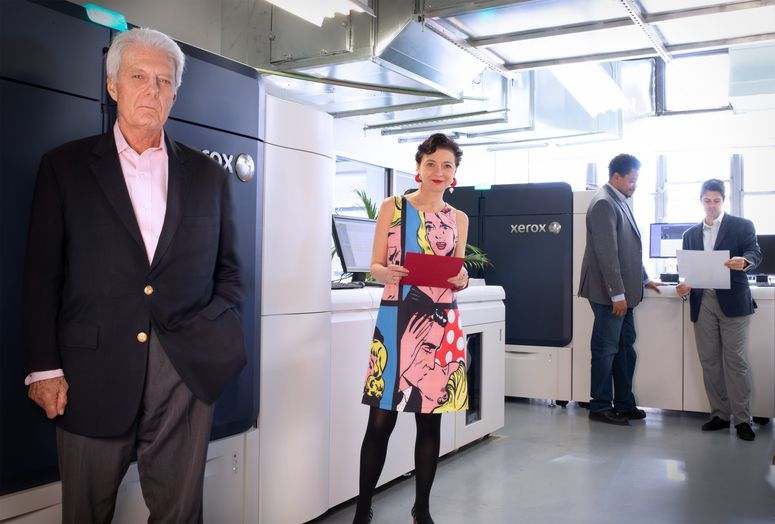 Fitch Group and New Xerox Iridesse Production Presses