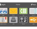 Xerox WorkCentre 6515 User Interface Screen