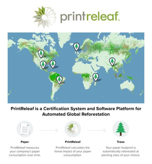 PrintReleaf on the map