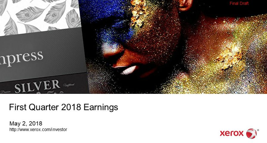 2018-Q1-XRX-Earnings-Presentation