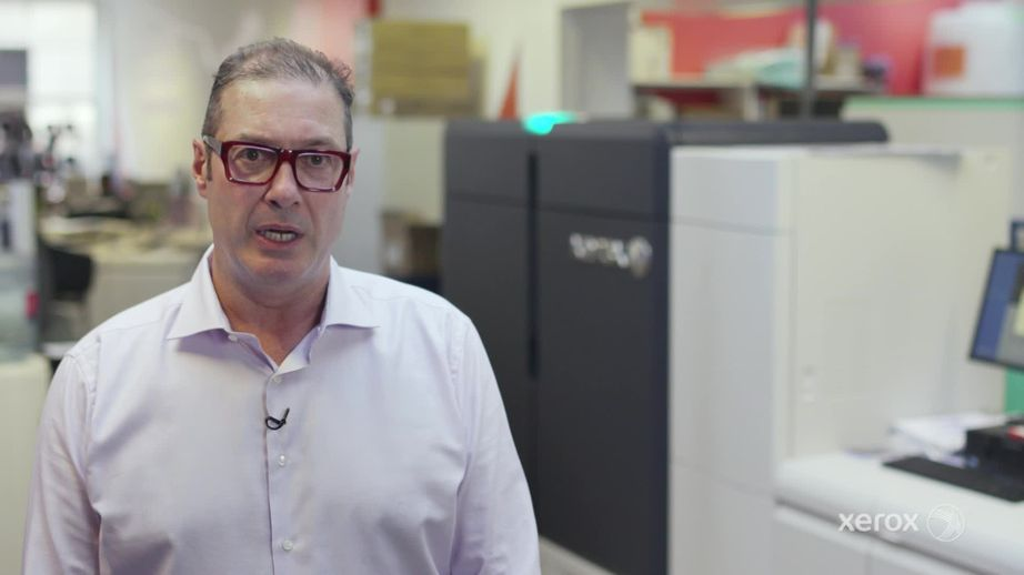 Xerox Customer IPW1 talks about the Iridesse Production Press