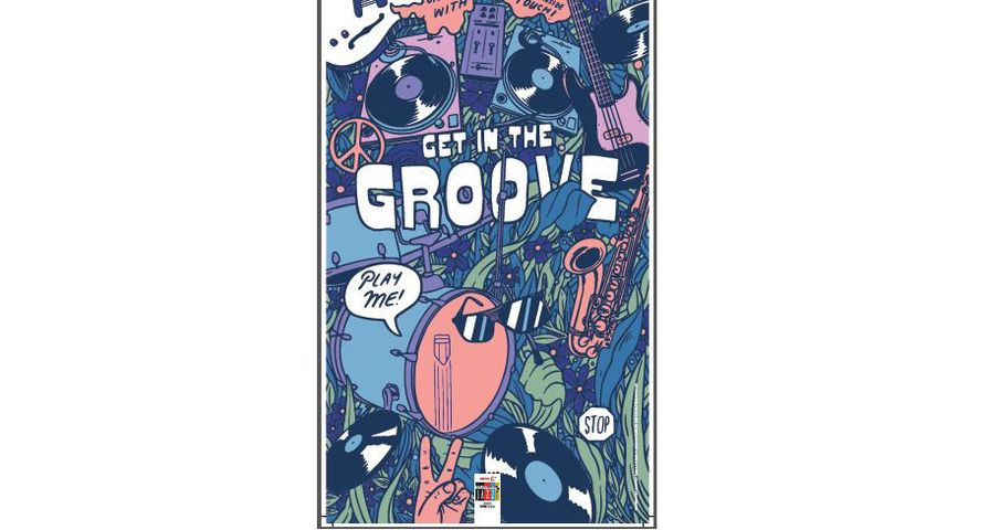 Interactive Musical Poster: Get in the Groove
