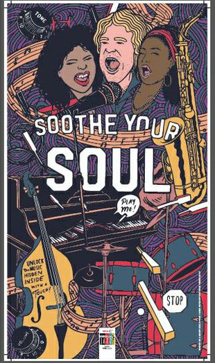 Interactive Musical Poster: Soothe Your Soul