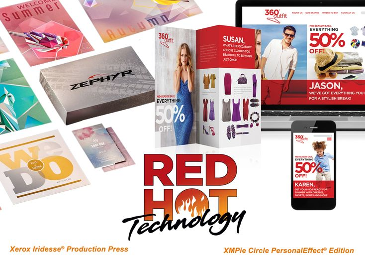RED HOT Technology Recognitions to Xerox and XMPie