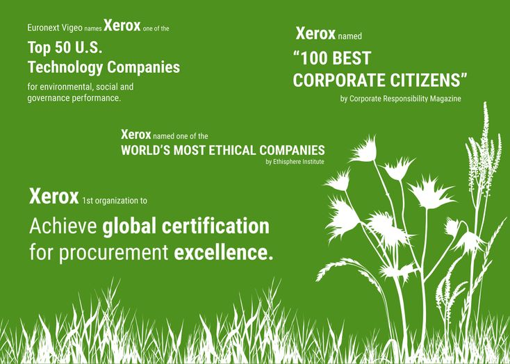 Xerox Showcases Commitment to Corporate Social Responsibility