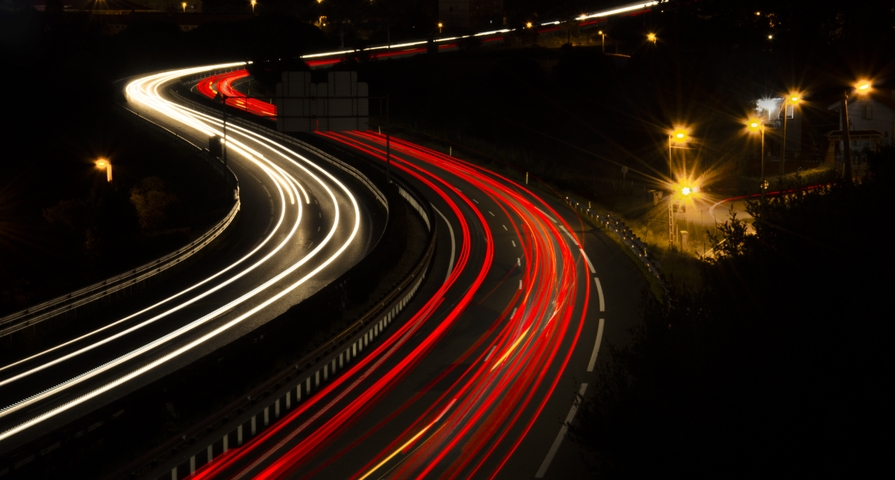 Highway lights