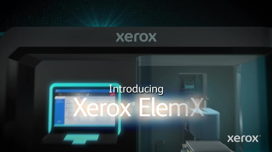 Introducing the Xerox® ElemX™ Liquid Metal Printer