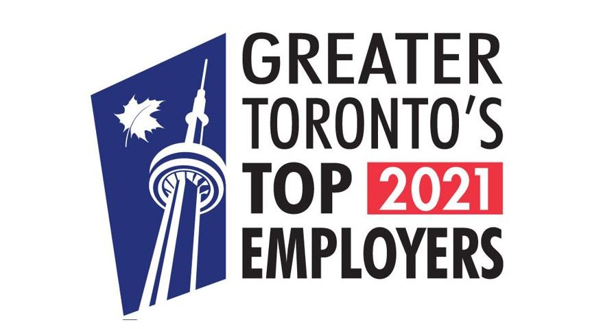 Xerox Canada Named as one of Greater Toronto's Top Employers (2021)