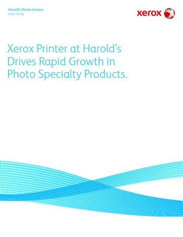 Case Study: Harold's Photo Centers Inc.
