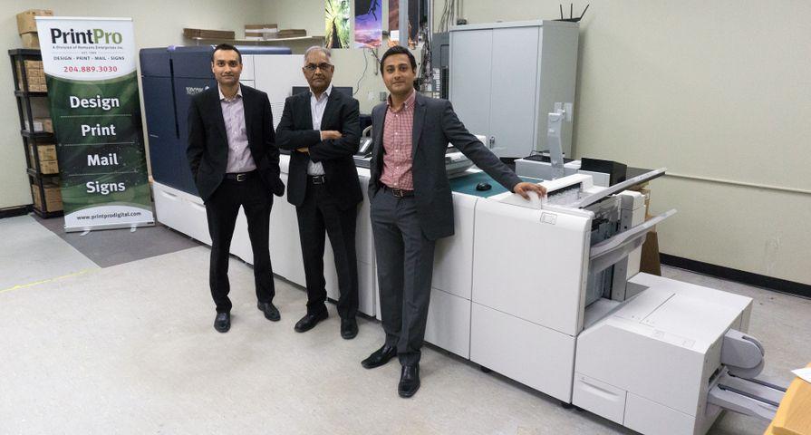 PrintPro vise une croissance à deux chiffres en misant sur la première presse de production Iridesse de Xerox vendue au Canada