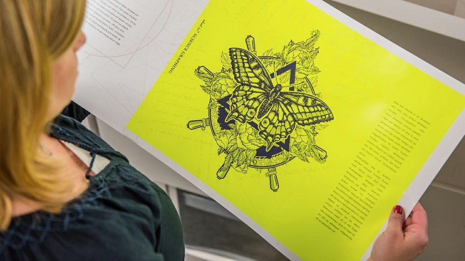 Xerox iGen 5 XLS sheet size and Fluorescent Yellow Dry Ink for the 5th Print Station