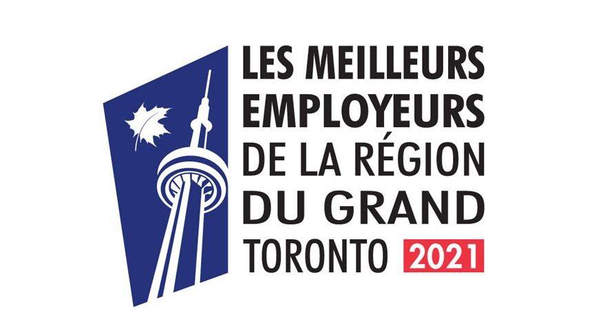 Xerox Canada figure parmi les meilleurs employeurs du Grand Toronto (2021)