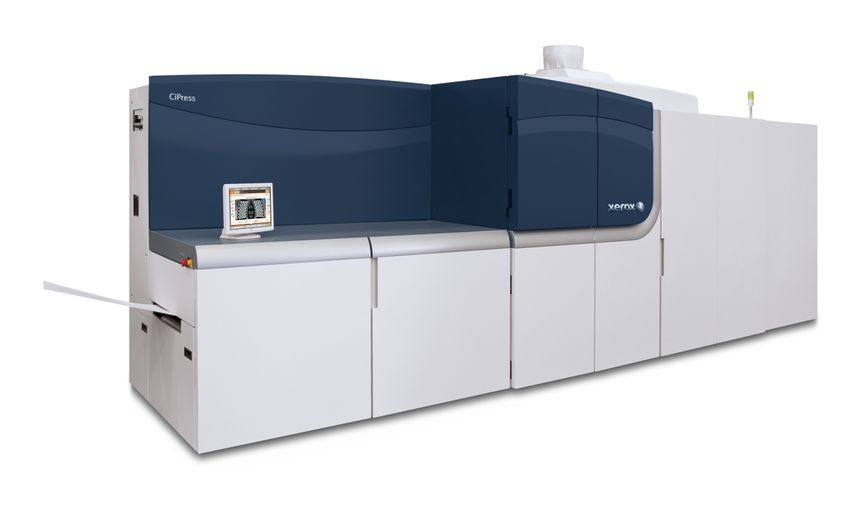 Xerox CiPress 500 and 325 Single Engine Duplex (SED) Production Inkjet Systems