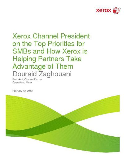 Q&A with Xerox Channel President