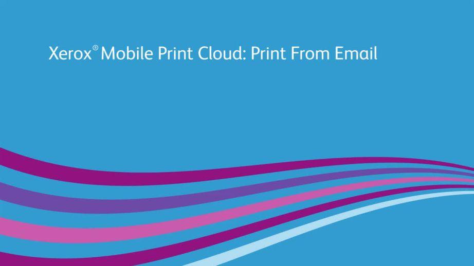 Xerox Mobile Print Cloud v3.0