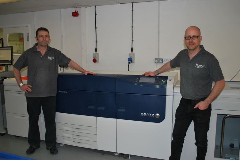 Hunts Trebles Digital Printing Capacity with Xerox Versant 2100 Presses