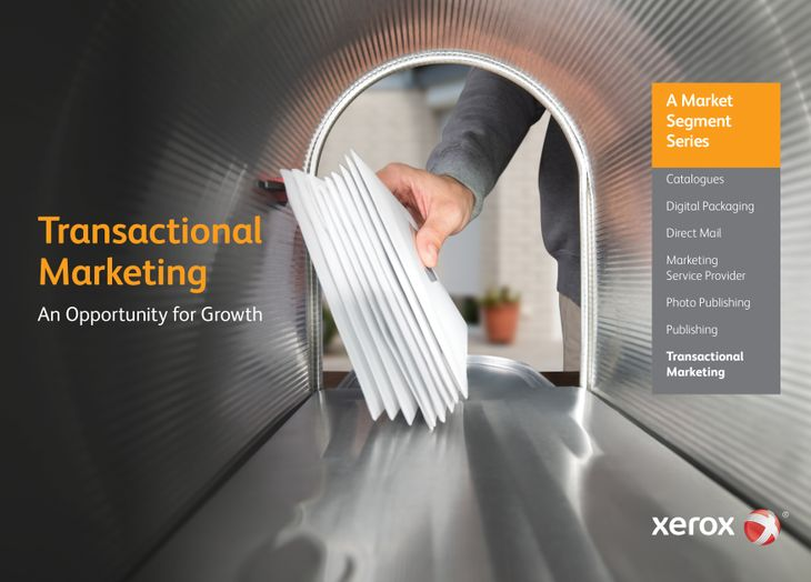 Xerox Transactional Marketing brochure