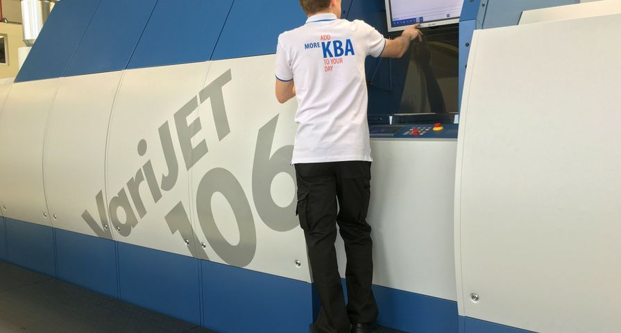 KBA and Xerox Target Folding Carton Market with a 40 Inch Sheetfed Press – That's Digital