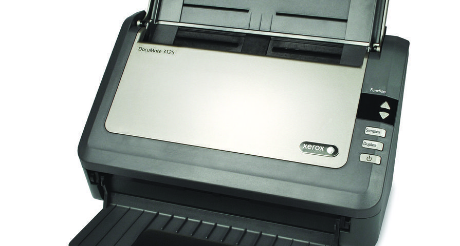 New Xerox DocuMate 3125 Improves Office Productivity with Increased Speed and Improved Compatibility