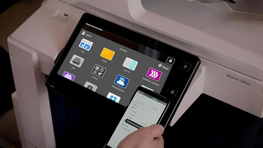 Xerox AltaLink Multifunction Printers' Customizable Home Screen