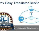 2016 BLI Buyers LAB Xerox Easy Translator Service